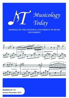 coperta Musicology Today 3