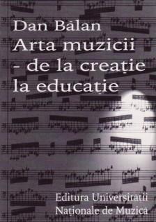 coperta balan arta muzicii