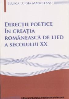 manoleanu directii poetice