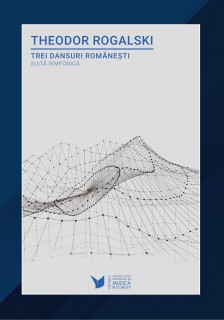 Th. Rogalski - Trei dansuri romanesti, coperta-1