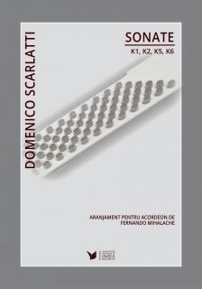 Coperta Domenico Scarlatti - Fernando Mihalache -1